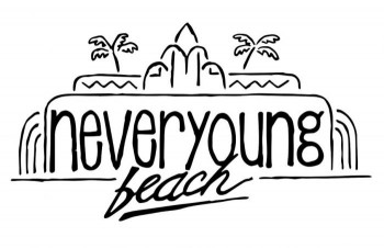 never young beach logo